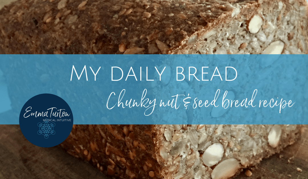 My daily bread – Chunky Nut & Seed Bread Recipe
