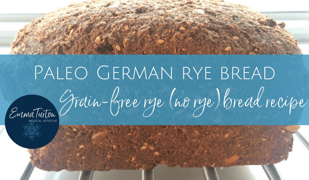 Paleo German rye bread recipe