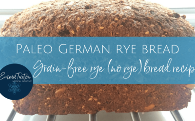 Paleo German rye bread recipe