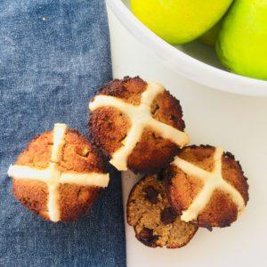 hot-cross-bun-muffins-paleo-vegan-easter